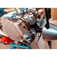 Montage du moteur sur le Pitts